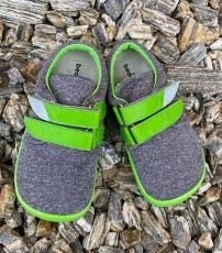Beda barefoot sneakers Soft lime | 20, 21