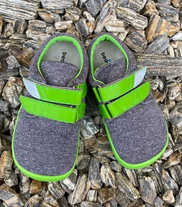 Barefoot Beda barefoot tenisky Soft lime bosá