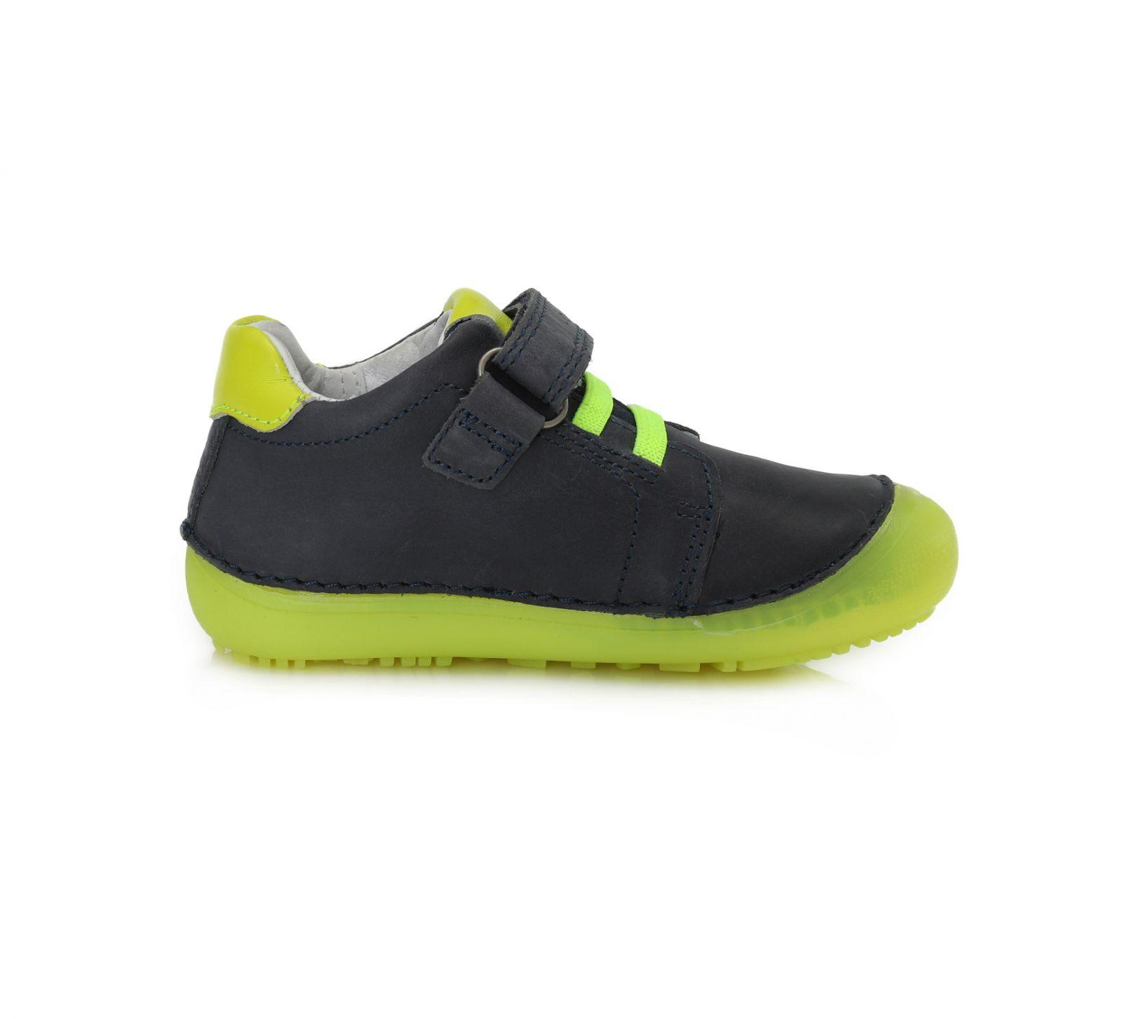 Barefoot DDstep 063 celoroční boty - modrá bosá