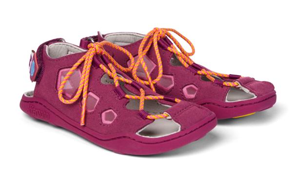 Barefoot Dětské barefoot sandály Affenzahn Sandal Vegan Bird bosá