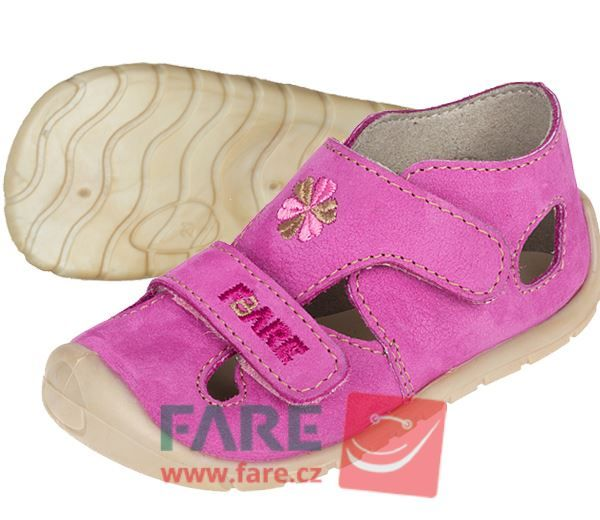 Barefoot FARE BARE dětské sandály 5061252 bosá