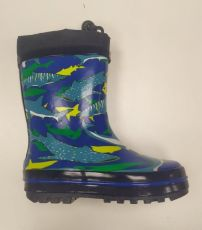 Wolf colored boots with sharks | 29