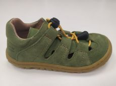 Lurchi sandals - NATHAN suede Aloe velo