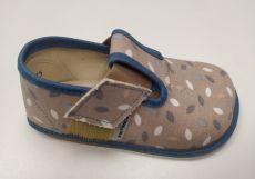 Pegres barefoot papuče BF01 modré