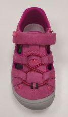 Barefoot Protetika barefoot sandálky Bard fuxia bosá