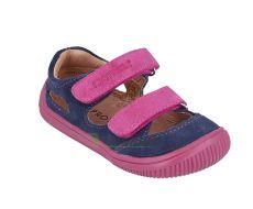 Barefoot Protetika barefoot sandálky Berg blue bosá