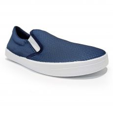 Barefoot slip on Anatomic blue mesh with white sole | 38, 39, 40, 41, 42, 44, 45