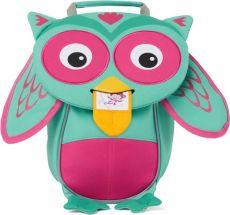 Batůžek pro nejmenší Affenzahn Owl small turquoise