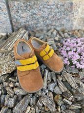 Beda Barefoot Caramel - nízké celoroční boty