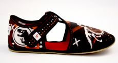 Ef barefoot slippers 385 T-REX - open