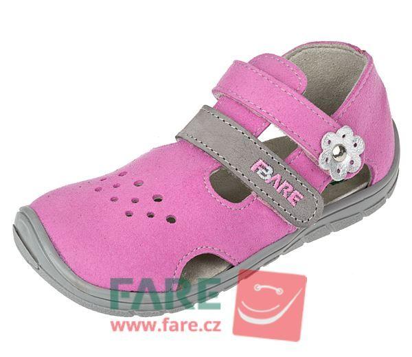 Barefoot FARE BARE dětské sandály B5464251 bosá