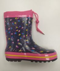 Wolf pink-pink boots with polka dots | 32