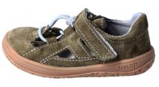 Jonap barefoot sandals B9S khaki SLIM