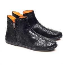 Leather shoes ZAQQ QUAKERTOWN Black