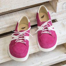 Barefoot Peerko 2.0 kožené boty - STREET Pink bosá