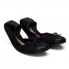 Ballet flats ZAQQ TWIST velours Black