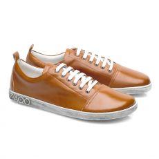 Barefoot shoes ZAQQ TAQQ nappa Brown