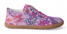 Barefoot year-round shoes KOEL4kids - KOEL4kids - Lady fuchsia flowers | 37, 41
