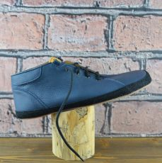 Year-round shoes - Barefoot Pegresky for adults - blue with black trench