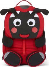 Children's backpack Affenzahn Large Friend Ladybird - red
