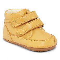 Barefoot shoes Bundgaard Prewalker II Velcro Yellow WS | 20, 21, 22