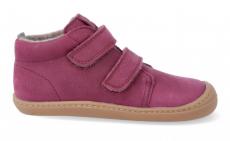 Barefoot insulated shoes KOEL4kids - BOB burgundy | 22, 24, 25, 27