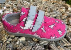 Beda barefoot textile sneakers Unicorn - gray sole | 22, 23, 24, 25, 26, 27, 28, 29, 30