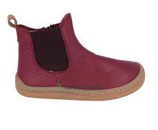 Froddo barefoot shoes chelsea burgundy   24, 25, 29, 30, 33, 34, 37