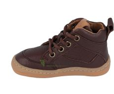 Barefoot Froddo barefoot ankle boots brown - laces