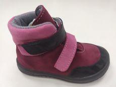 Jonap barefoot shoes JERRY burgundy SLIM