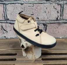 Barefoot leather shoes Pegres BF52 - beige | 26, 27, 28, 29, 30, 31, 32, 33, 34
