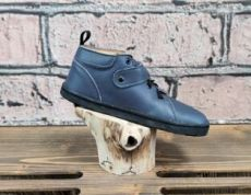 Barefoot leather shoes Pegres BF52 - blue | 26, 27, 29, 34