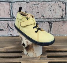Barefoot leather shoes Pegres BF52 - yellow | 26, 27, 28, 29, 34