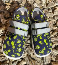 Alas barefoot textile sneakers monsters | 22, 23, 24, 25, 27, 28, 29, 30