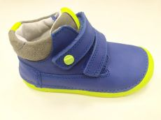 DDstep 070 year-round shoes - blue with neon sole | 22, 25