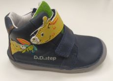 DDstep 070 year-round shoes - blue with giraffe | 22