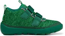 Children's barefoot shoes Affenzahn Happy Smile Knit Lowboot-Frog | 23, 24, 25, 27, 28