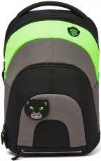 Children's multifunctional backpack Affenzahn Daydreamer Panther - black