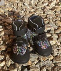 Jonap barefoot shoes JERRY black glossy | 22, 24