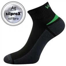VOXX socks for adults - Aston silproX - black   35-38, 39-42, 43-46
