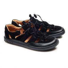 Sport leather sandals ZAQQ QLEAR Black | 39
