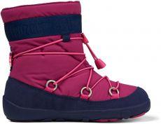 Children's barefoot snowshoes Affenzahn Snowy Witty Vegan - Flamingo | 29, 31, 32