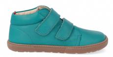 Barefoot year-round shoes KOEL4kids - VELVET turquoise | 32, 33, 34, 35