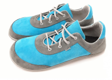 Beda barefoot leather shoes - gray heaven | 40, 41