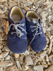Beda barefoot - LEATHER LEATHER SHOES - Lucas dark blue | 20, 21, 22, 23, 24