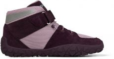 Children's barefoot shoes Affenzahn Dreamer Hopes Leather - midboot - Grape | 33, 34, 36, 37