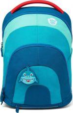 Children's multifunctional backpack Affenzahn Daydreamer Shark - petrol