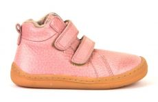 Froddo barefoot winter ankle boots pink with real fur   20, 22, 25, 26, 27, 29, 37, 38, 39, 40