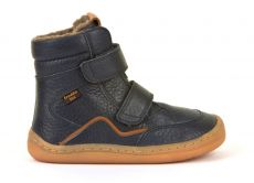 Froddo barefoot winter high boots blue - with membrane | 23, 24, 25, 26, 27, 28, 29, 30, 31, 32, 33, 34, 35