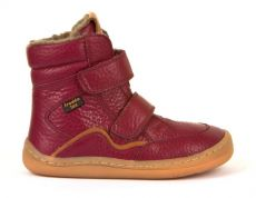 Froddo barefoot winter high boots bordeaux - with membrane | 23, 24, 25, 26, 27, 28, 29, 30, 31, 32, 33, 34, 35